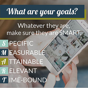 creating smart goals for your social media marketing strategies